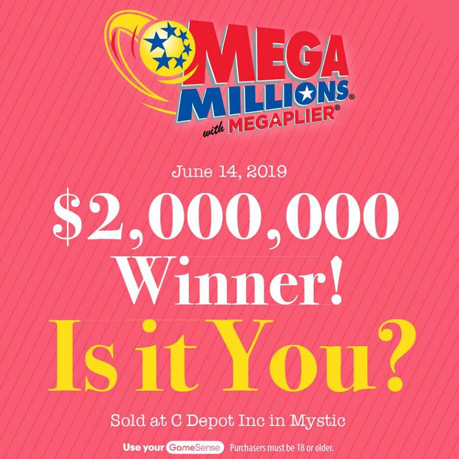 A winning $2 million Mega Millions ticket was sold Friday at C Depot Inc. in Mystic. Photo: Courtesy Of The CT Lottery Facebook Page