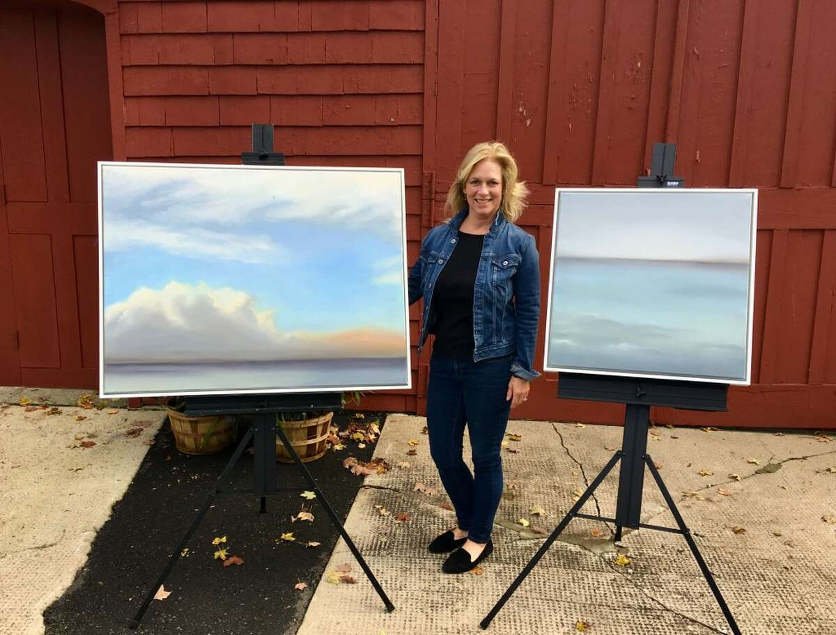 New Works by Tina Cobelle-Sturges will be on display from Dec. 4-8 in the Cass Gilbert Carriage Barn at Keeler Tavern Museum and History Center. The show opens with a free artist's reception on Sunday, Dec. 2, 3-6 p.m.