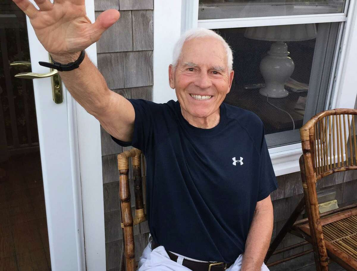 Michael Nardone, known by many as the Ridgefield Walker, began his 'walking journey' in town in the spring of 1997. He passed away last year.