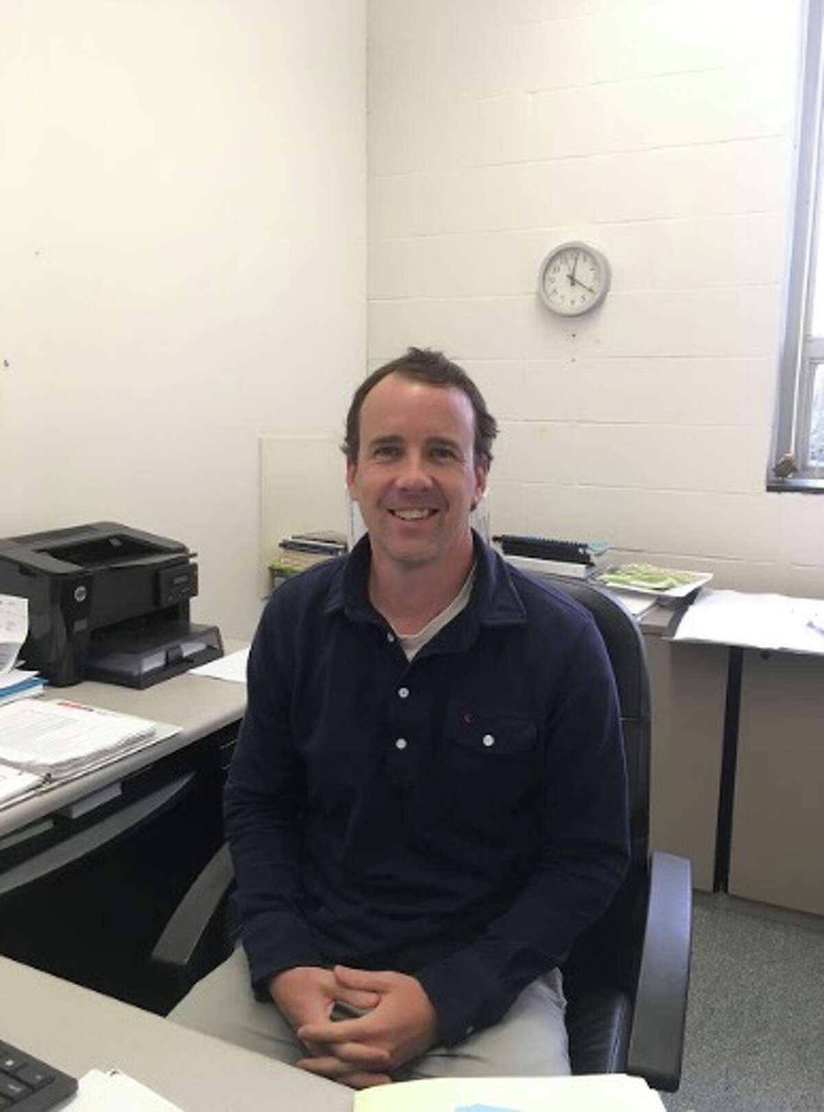 Daniel Robinson was hired as the town assistant planner on Oct. 30.