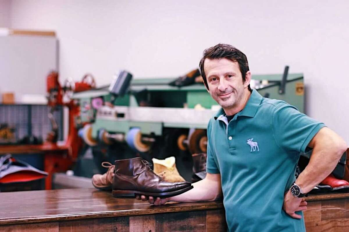 George Togridis has taken over as the new owner of Ridgefield Shoe Repair.