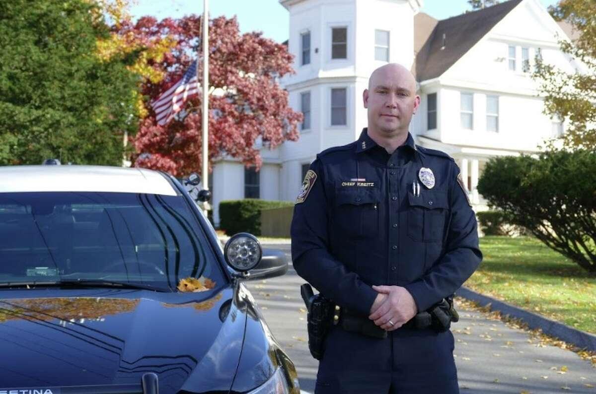 Ridgefield Police Chief Jeff Kreitz. - Peter Yankowski photo