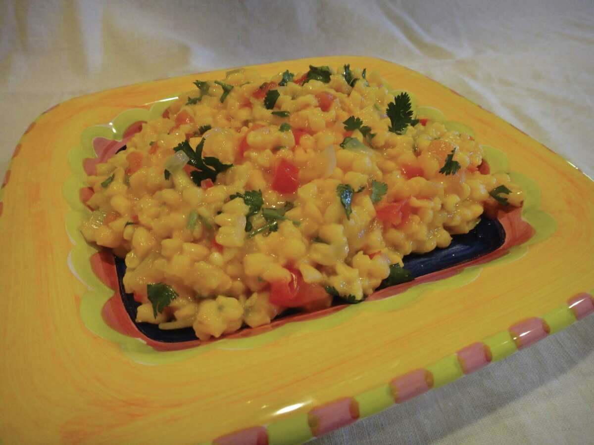 """Chacales (cracked nixtamalized corn) from """"Don't Count the Tortillas"""" by Adán Medrano"""