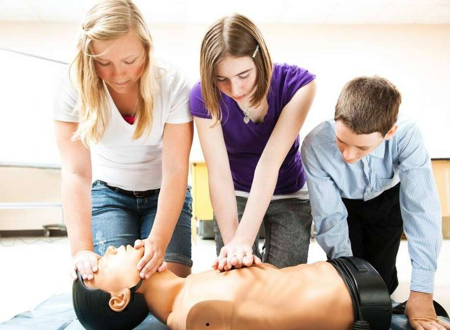 A CPR class for teens will be held at the Ridgefield Fire Department next month.