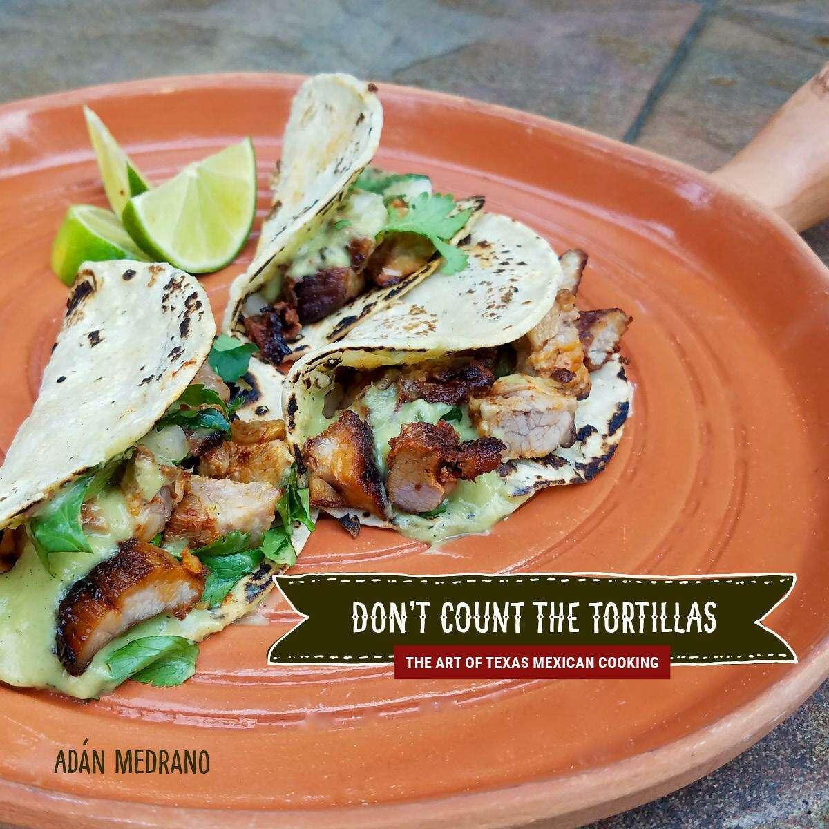 """""""Don't Count the Tortillas"""" by Adán Medrano (Texas Tech University Press)"""