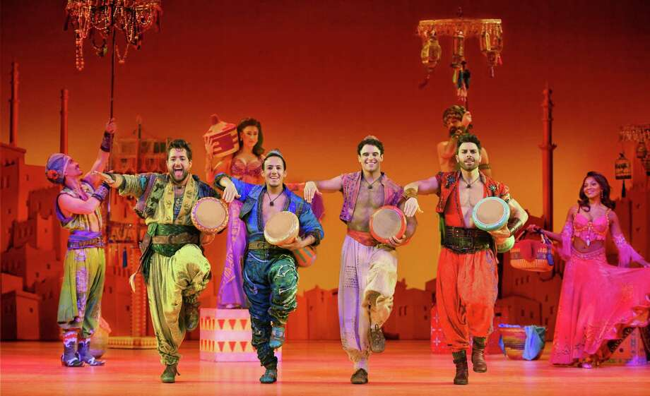 Cast from the Broadway at the Hobby Center production of 'Aladdin' Photo: Broadway At The Hobby Center, Photographer / ©2019 photographer Deen van Meer, all rights reserved, photographer should be credited at all times