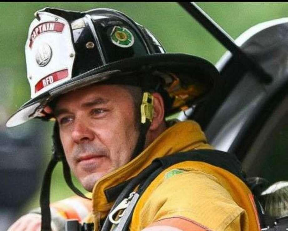 Ridgefield Fire Capt. Dave McDevitt.