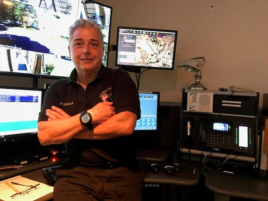 "Ridgefield Police Dispatcher Isabel ""Issy"" Caporale."
