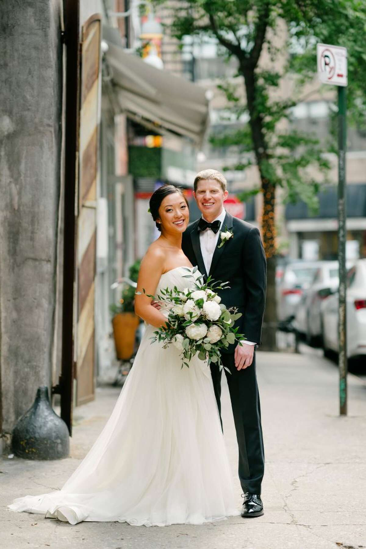Kate Yan and Andrew Furman