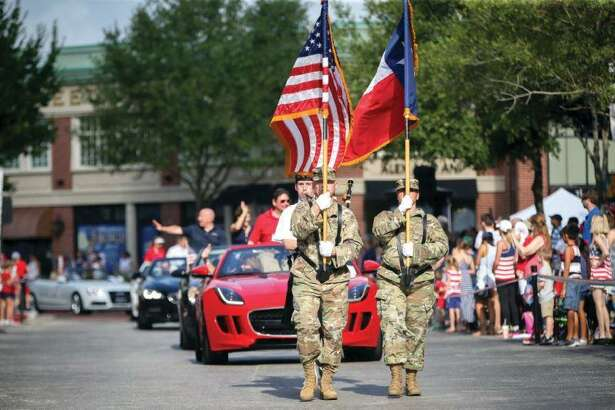 Parade participants march through Market Street during the a previous year'sSouthCounty4thofJulyParade. This year, the44th Annual South Montgomery County 4th of July parade is scheduled to begin at 9 a.m.