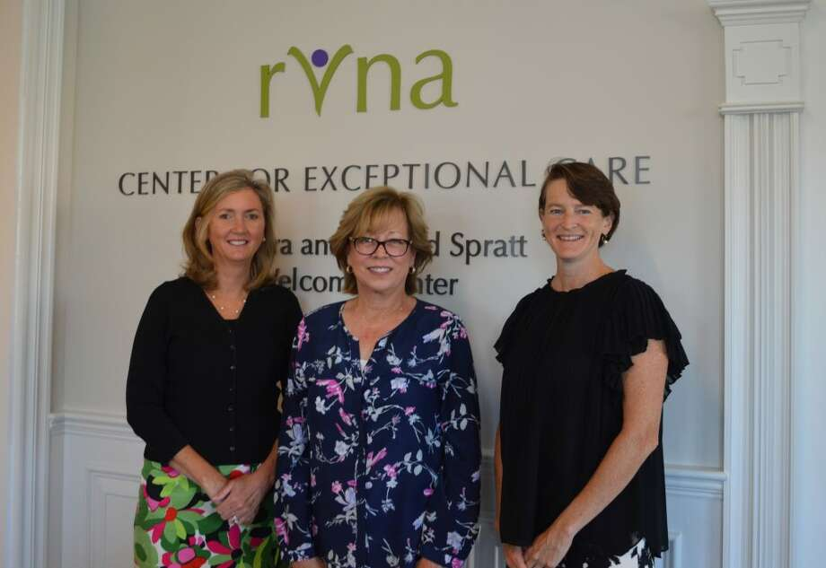 New RVNA board members, from left: Marcie Coffin, Linda MacDonald, and Carolyn Nolan.