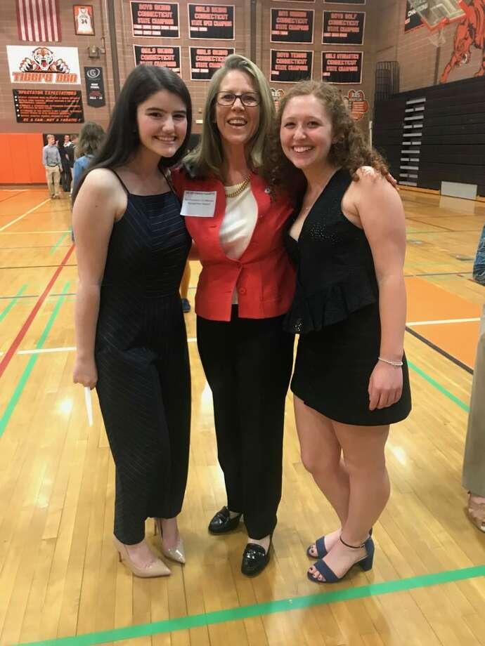 Erin Hanlon, Liz Osterhus Fleuette, and Jennifer Gordon