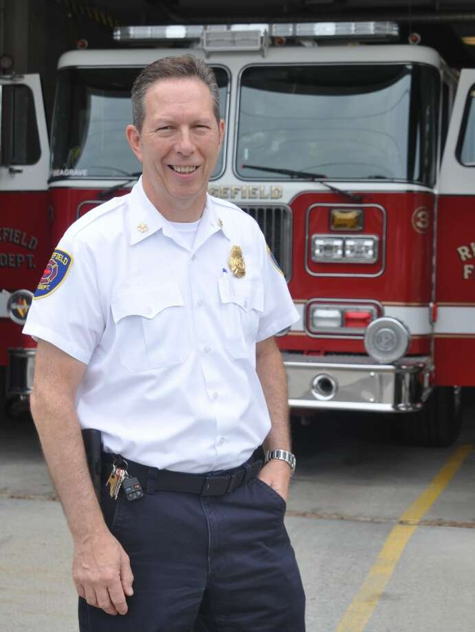 Assistant Fire Chief Mickey Grasso has been with the fire department more than 30 years. — Macklin Reid photo