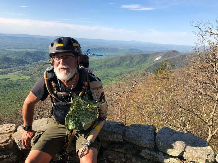 Brian Kibler is currently partway through his journey through the Appalachian Trail, a trail covering 14 states and more than 2,000 miles long, and has traveled more than 800 miles as of June 17. Photo: Brian Kibler