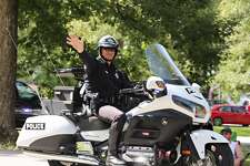 Roman Forest Police Department officer Greg Sammon is seen here in this undated photo. Sammon was involved in a crash along North Loop 610 in Houston on Monday, June 17, 2019.