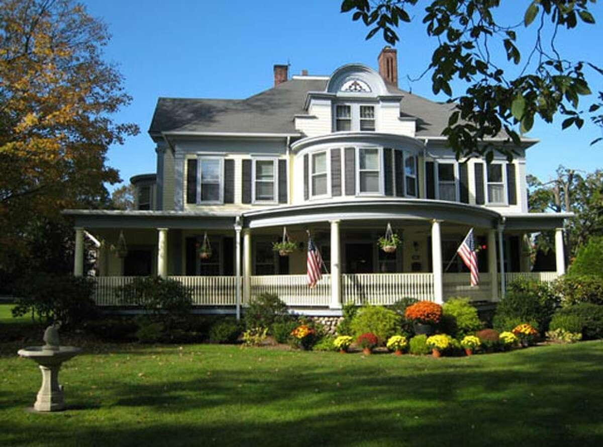 The West Lane Inn, built in 1849, was originally the 19th-Century house of Harvey Bissell, the pharmacist. Owner Debbie Prieger has put the property on the market. Her family has owned it since 1973.