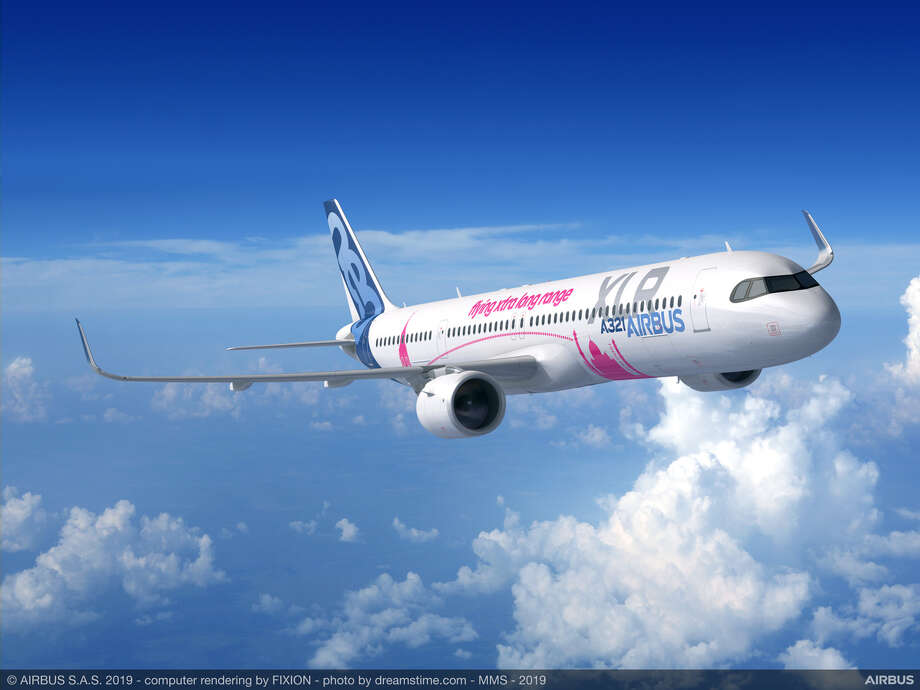 The new Airbus A321XLR, about the size of a Boeing 757, is going to disrupt transatlantic travel Photo: Airbus