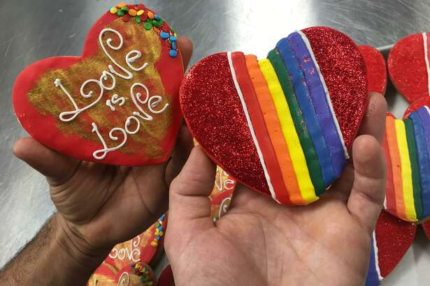 La Sicilia Italian Bakery & Café: For entire Pride month, this Montrose bakery is making Pride macarons ($3.25 each) and cookies ($3.75). Call 713-636-2900 for large orders. 515 Westheimer.