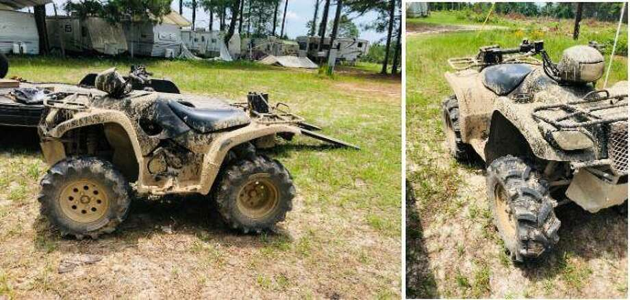 An all-terrain vehicle, as seen here, was reported stolen out of a home garage in New Caney. Photo: Courtesy Of The Montgomery County Sheriff's Office