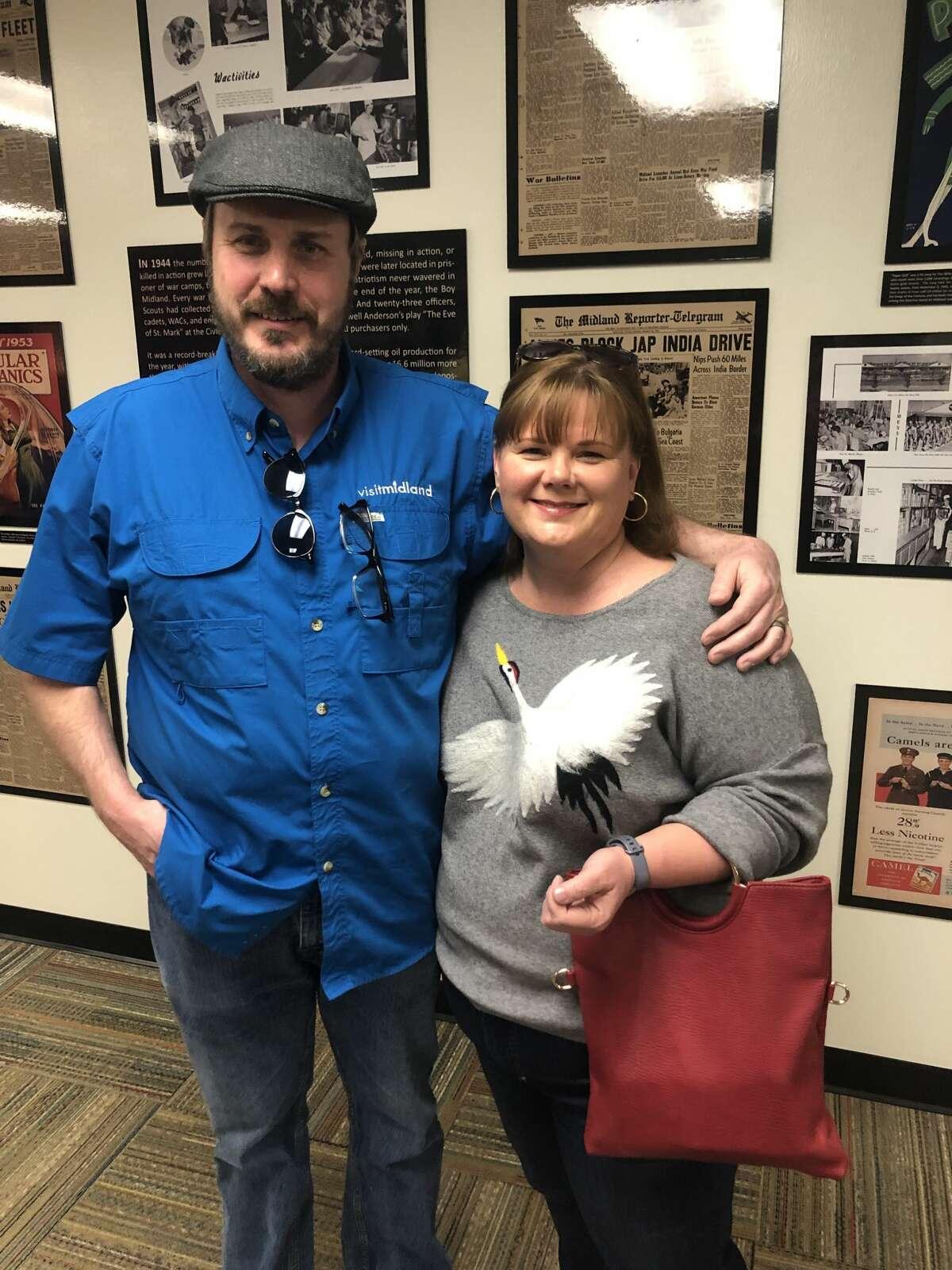 Midland County History Museum: Brad and Nellwyn Barnett