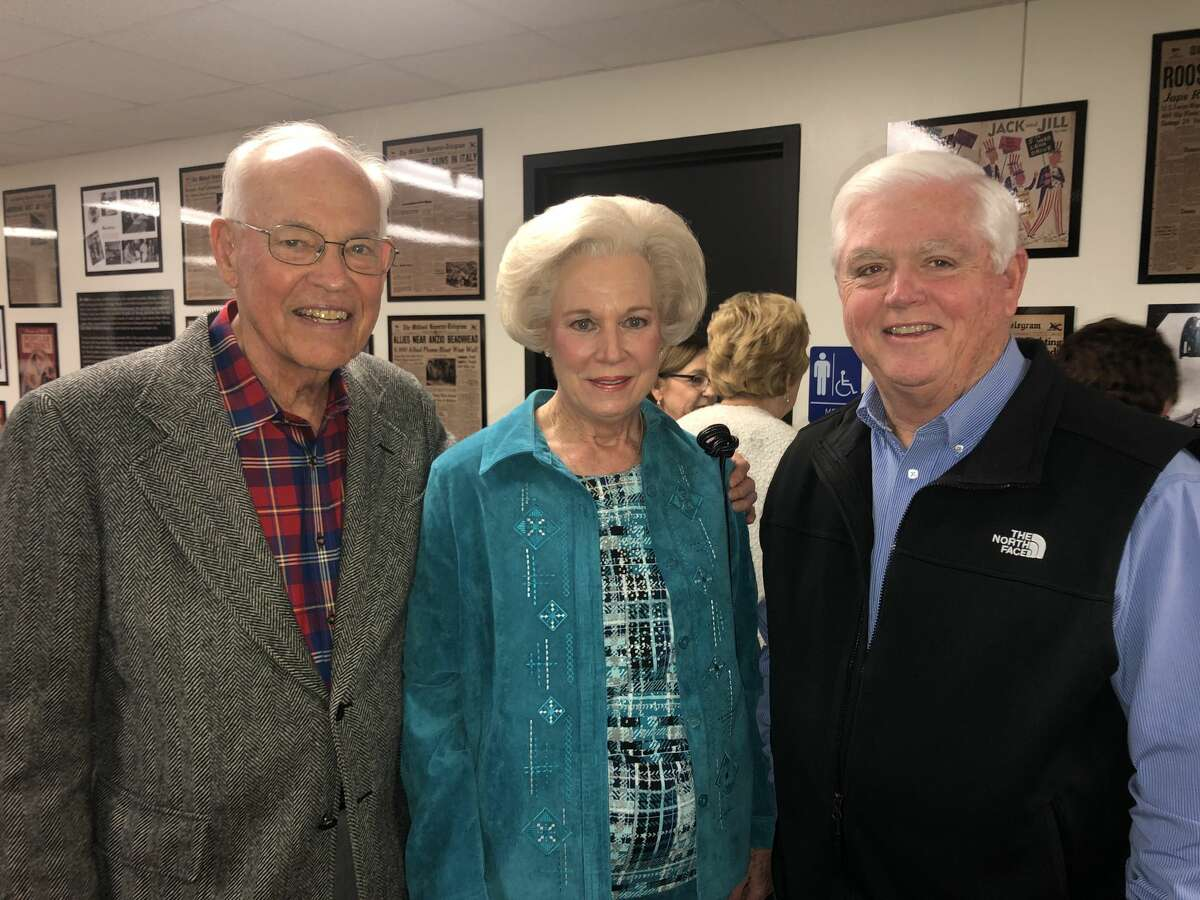 Midland County History Museum: Dale and Carolyn Stice, from left, and Pat McDaniel
