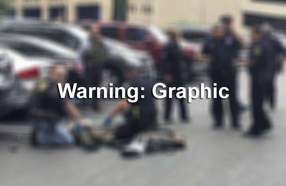 Warning: Graphic images ahead. Photo: AP