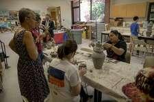 The Teen Artist Residency Program on Thursday, June 6, 2019 at the Ellen Noel Art Museum. Jacy Lewis/191 News