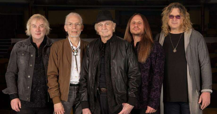 "Yes — on ""The Royal Affair Tour"" with Asia, John Lodge of The Moody Blues and Carl Palmer's ELP Legacy, with guest vocals by Arthur Brown — is at the Westchester County Center, White Plains, N.Y., on June 20. Photo: Yes / Contributed Photo"