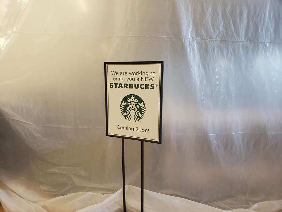 Construction of the new Starbucks is underway at United. Photo: Ellysa Harris/Plainview Herald