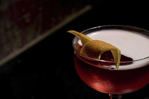 Houston's favorite Negronis: Coffee Negroni at The Cottonmouth Club, downtown Houston.