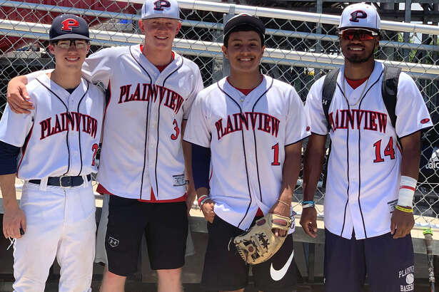 Plainview ISD players Brodrick Jackson, Riley Bennett, Brooks Browning and Elijah Munoz each competed in the 4A-5A-6A-TAPPS Greater West Texas Baseball All-Star game on Saturday at Lubbock Cooper High Shool.