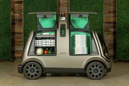 Domino's and Nuro are joining forces on autonomous pizza delivery using the custom unmanned vehicle known as the R2.
