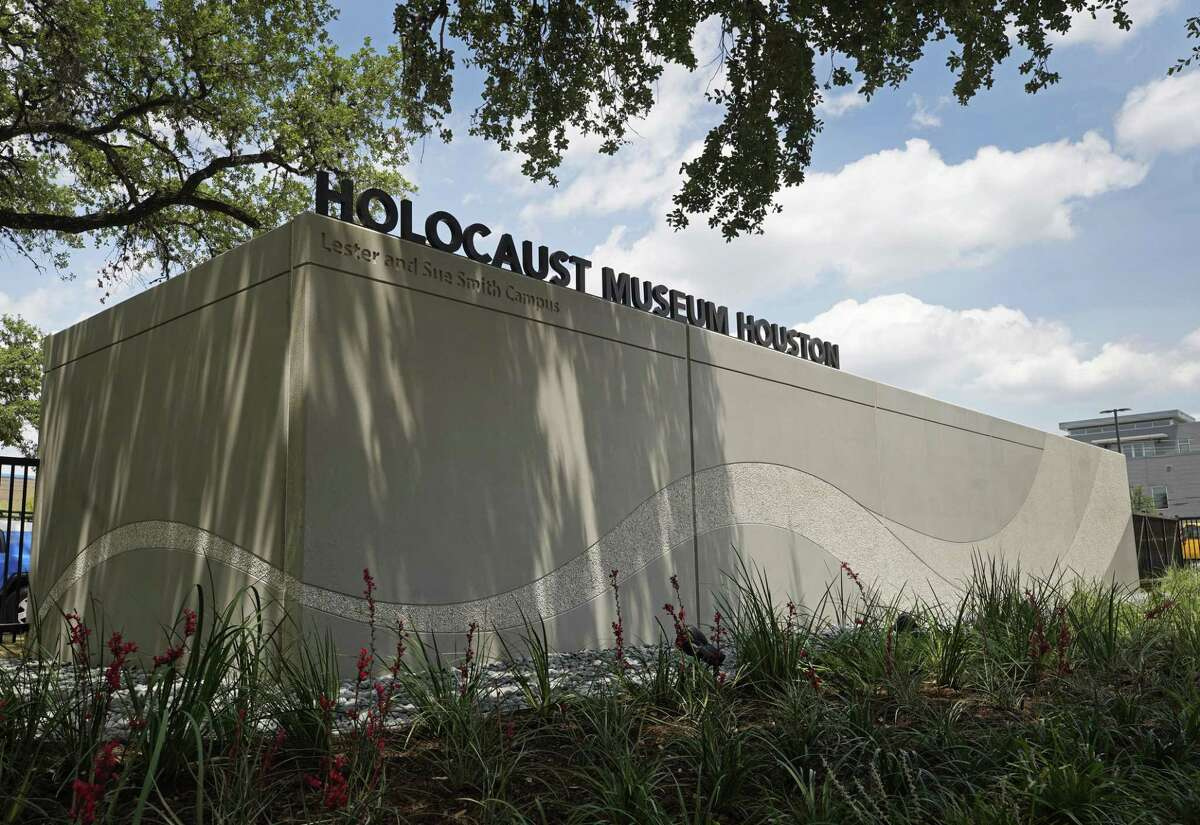 A climate control storage area was built to contain the over 1.5 million handmade butterflies made by children for the Butterfly Project at the Holocaust Museum Houston, 5401 Caroline, Friday, June 14, 2019, in Houston. The Holocaust Museum Houston Lester and Sue Smith Campus will have a public grand opening on June 22. The project memorialized the 1.5 million children who perished in the Holocaust.
