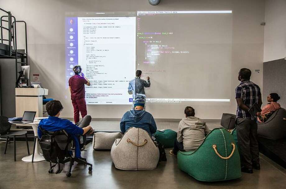 Connecticut offered the Holberton school $1.8 million to open a two-year full-stack engineering program in New Haven in January. (Tina Sommers) Photo: The74million.org / Contributed Photo / Connecticut Post Contributed