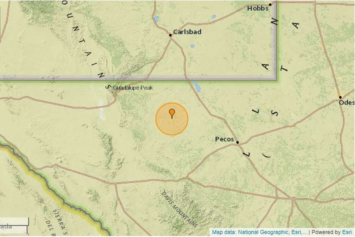 On May 26, a 2.5-magnitude quake was reported 36 miles west of Mentone.