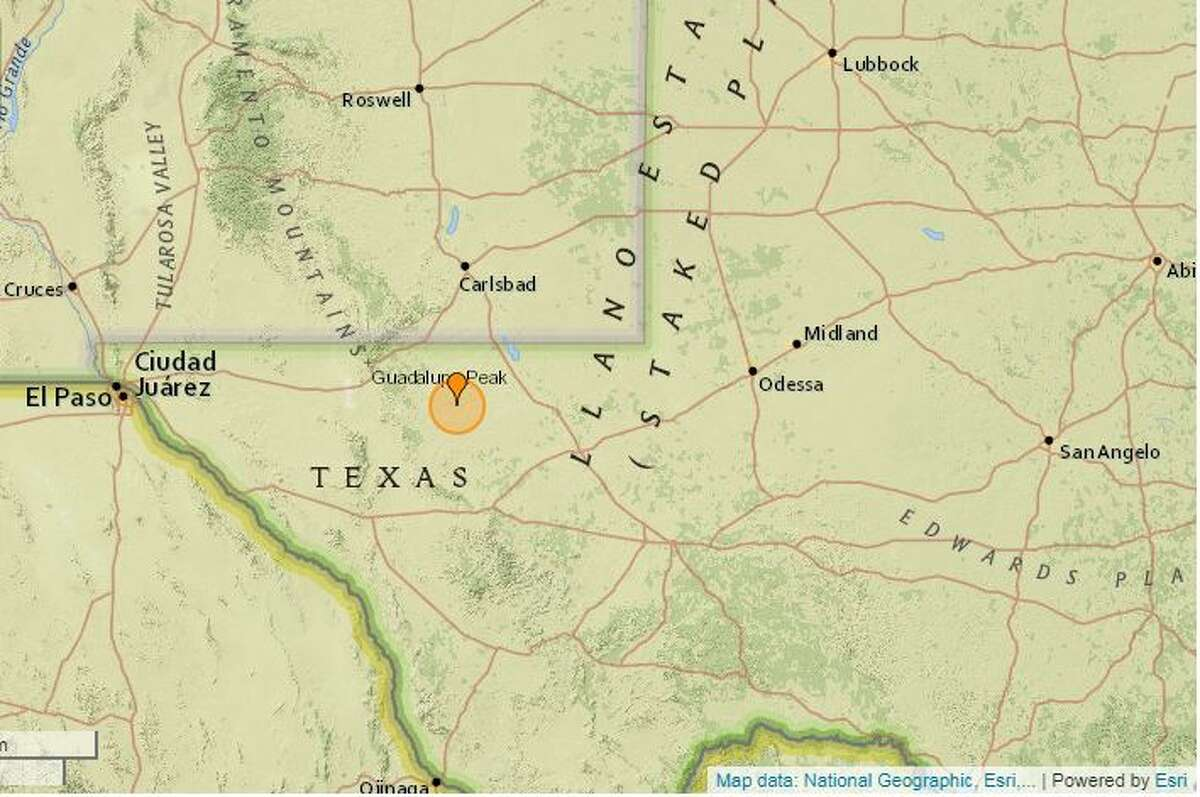On June 7, a 2.6-magnitude quake was reported 39.8 miles west of Mentone.