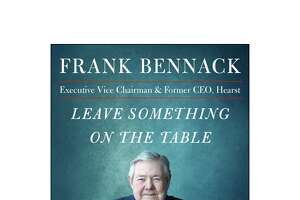 """The cover of Frank Bennack Jr.'s upcoming book ?Leave Something on the Table + Other Surprising Lessons for Success in Business and in Life."""""""