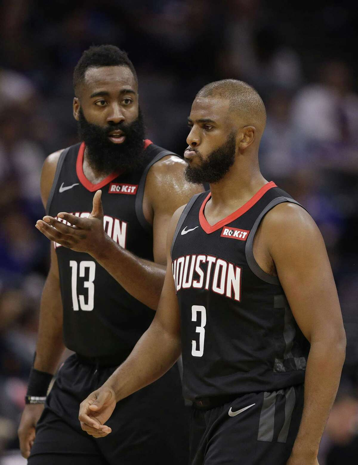 16. James Harden, G, Rockets Year: 2016 Single-season base salary: $15,756,438 >>>Check out which members of the Rockets, Astros and Texans earned the highest single-season salaries this decade.