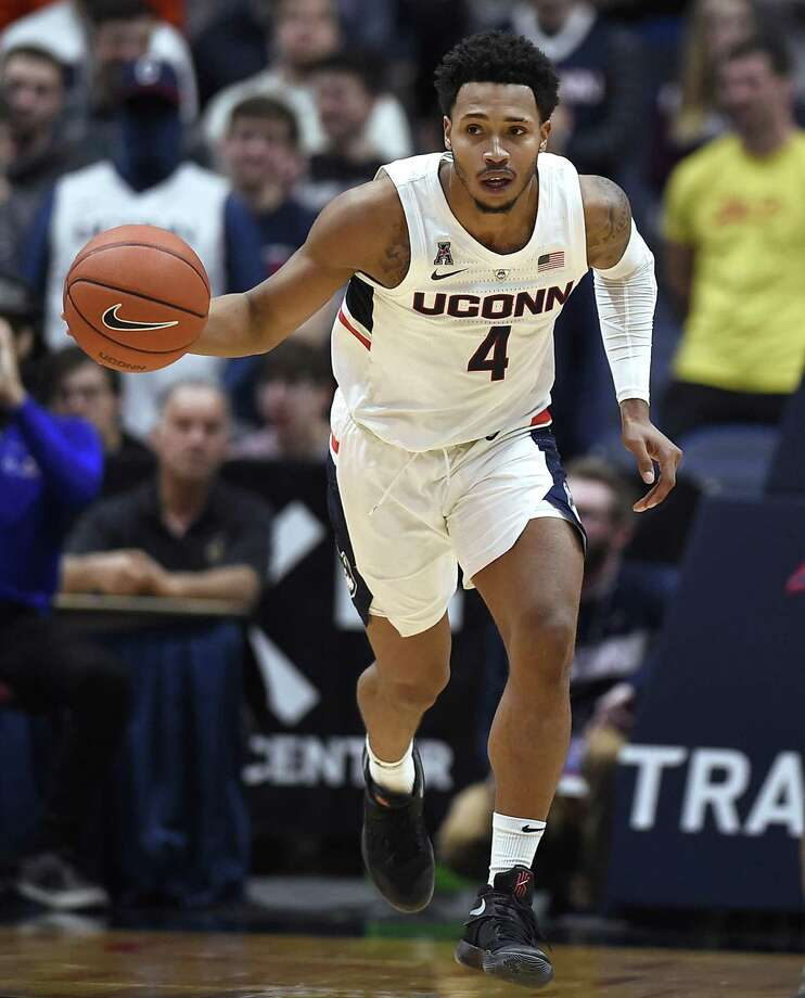 UConn's Jalen Adams Photo: Jessica Hill / AP / Copyright 2018 The Associated Press. All rights reserved