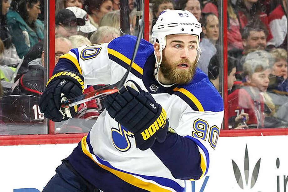 The Blues' Ryan O'Reilly is a finalist for the NHL's Selke Trophy as the best defensive forward and for the Lady Byng Trophy, which is awarded to the player that displays gentlemanly conduct on the ice. The annual NHL Awards will take place Wednesday night in Las Vegas. Photo: AP