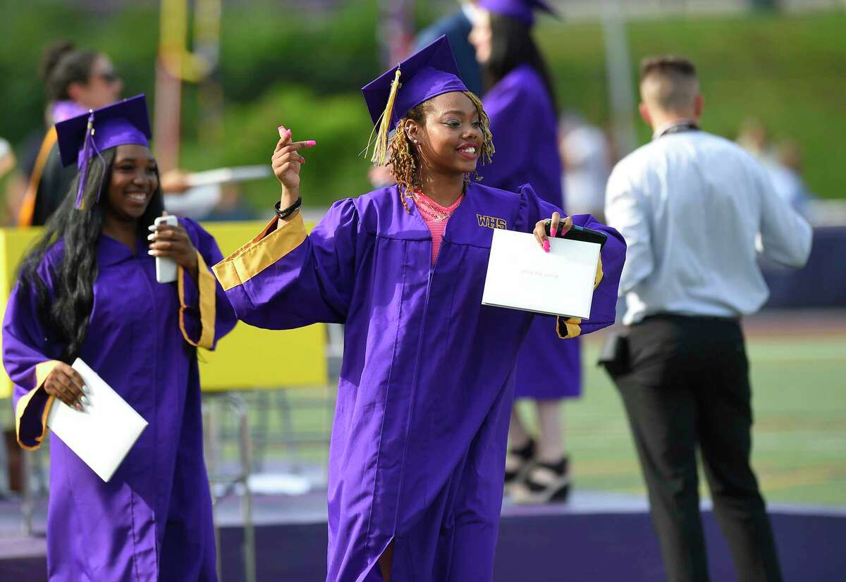 Westhill High School Class of 2019 commencement exercises on June 17, 2019 in Stamford, Connecticut.