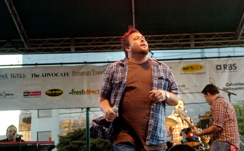 Uncle Kracker plays Alive @ Five on Thursday July 29, 2010 in Stamford, Conn.