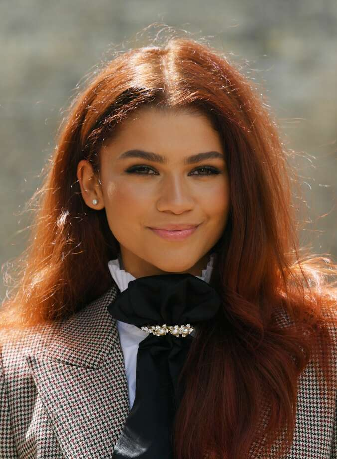 Zendaya gets 'Spider-Man' fans hyped over her new hair color