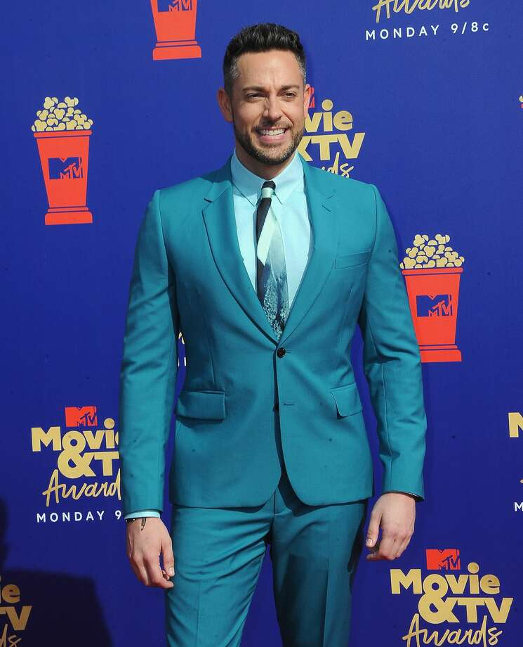 SANTA MONICA, CA - JUNE 17:  Zachary Levi arrives for the 2019 MTV Movie And TV Awards held at Barker Hangar. Photo: Albert L. Ortega/Getty Images