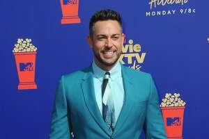 SANTA MONICA, CA - JUNE 17:  Zachary Levi arrives for the 2019 MTV Movie And TV Awards held at Barker Hangar.