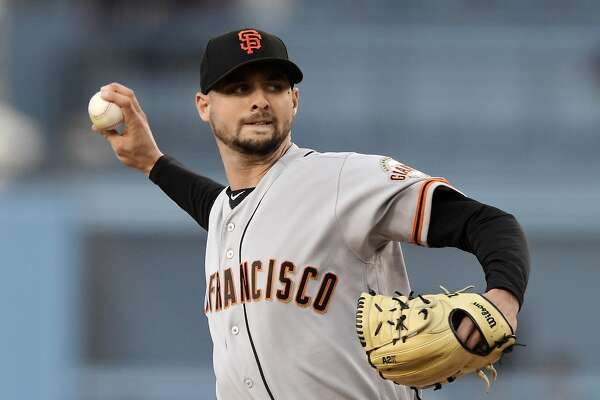 20fb1fb3 Giants' Tyler Beede gets first big-league win by beating Dodgers ...