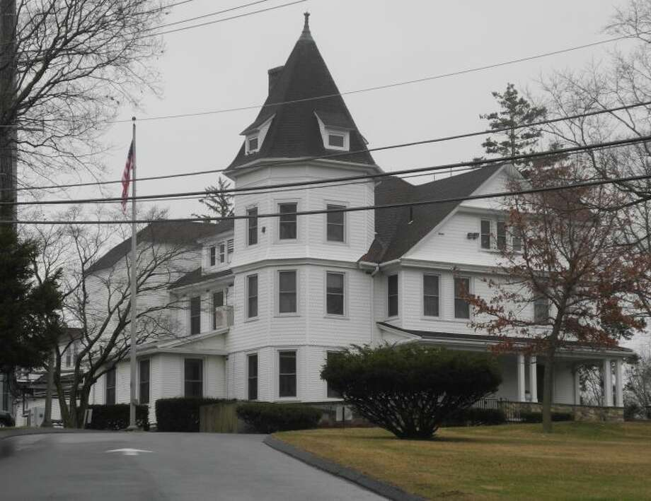Ridgefield's police headquarters is in a converted 1890s mansion on East Ridge that was a regional state police station from the 1930s to the 1970s. — Macklin Reid photo