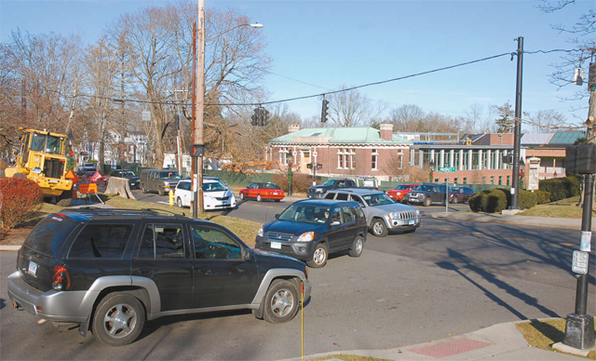 The CVS intersection on Main Street has long been a quagmire for traffic engineers. -Macklin Reid photo