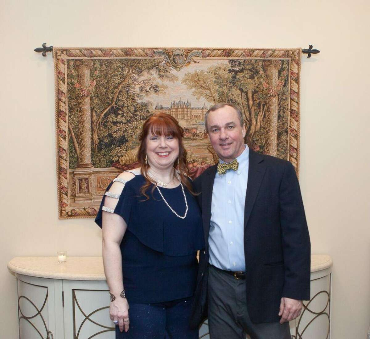 Ridgefield Operation for Animal Rescue (ROAR) honored Ridgefield-resident Scott Linke with its 2019 ROAR Community Star Award for his outstanding contributions and support at its annual ROAR gala and fundraiser. The event was held on March 9 at Le Chateau in South Salem, N.Y. Pictured from left to right: Kerry Dobson, executive director, ROAR and Scott Linke, ROAR volunteer and former board member.
