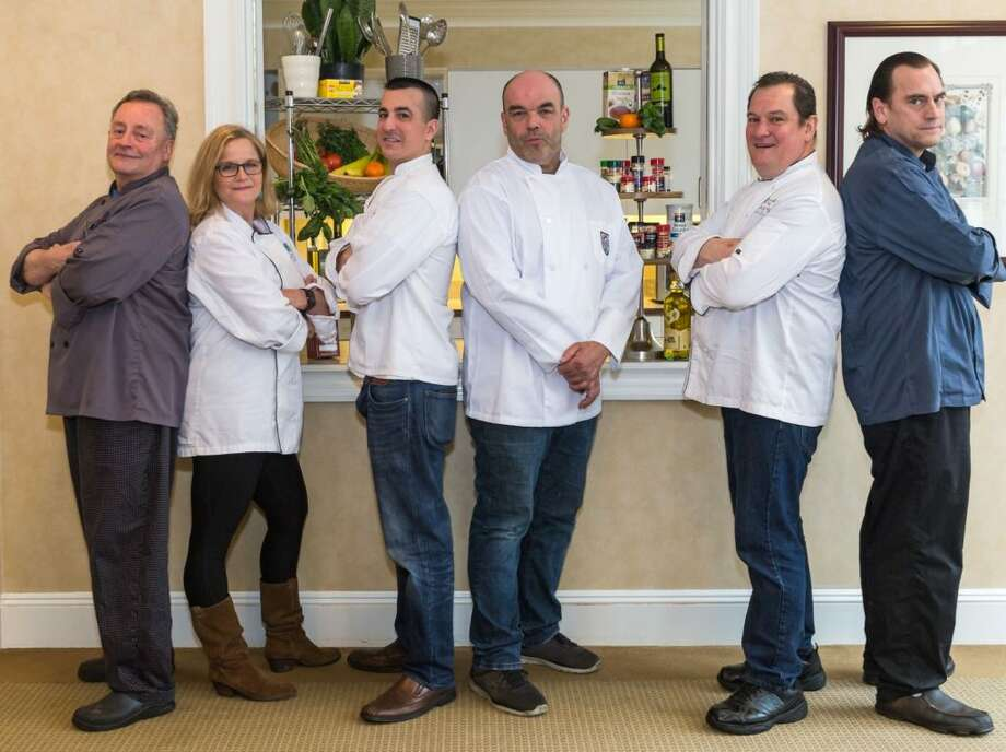 This year's Battle of the Chefs will feature three dueling duos: Jehan de Noüe and Sarah Bouïssou vs. Sal Bagliavio and Frank Bonnaudet vs. Bernard Bouïssou vs. Art Michaelsen.